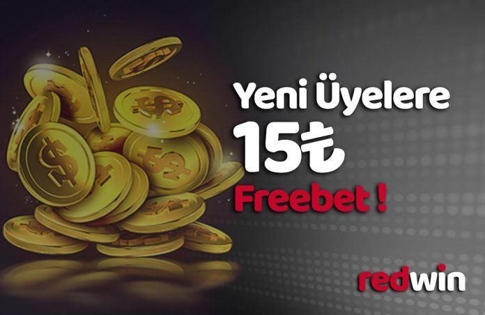 Redwin 15 TL Freebet Hediye