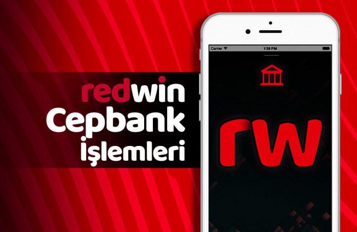 Redwin cepbank yatırım ve çekim işlemleri