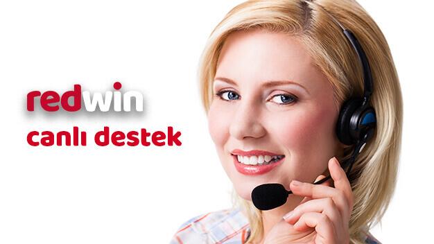 Redwin canlı destek