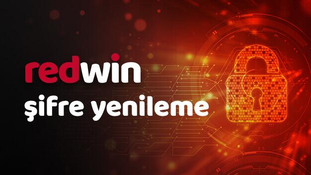 Redwin şifre nasıl yenilenir?