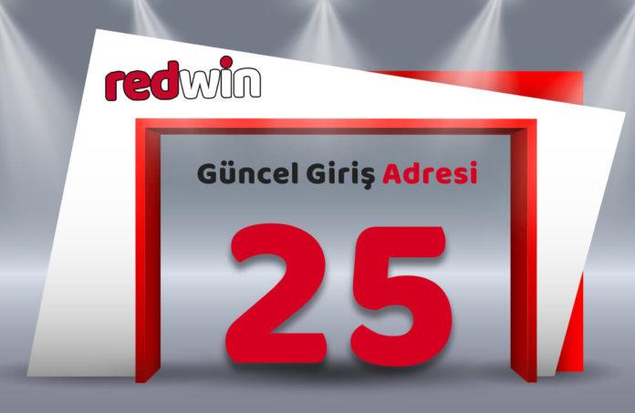Redwin 25 güvenli giriş adresiniz Redwin25